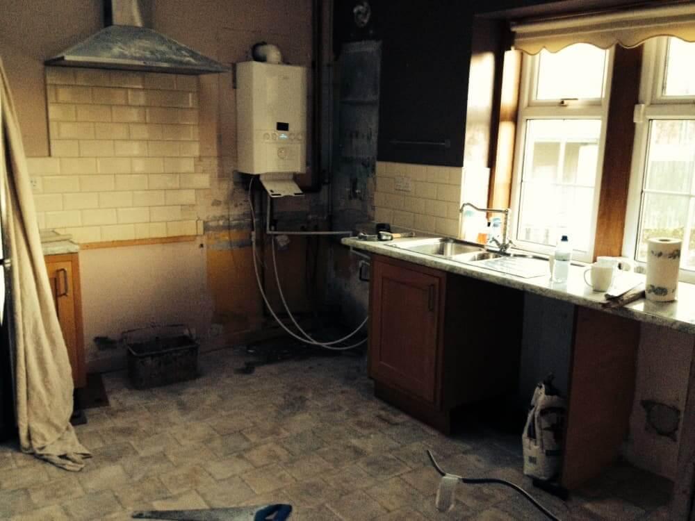 Bruce Mcraes New White Gloss Kitchen Kitchens