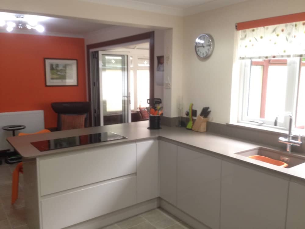 Martin and janet stewart 39 s stylish kitchen kitchens for Kitchen ideas uk 2017