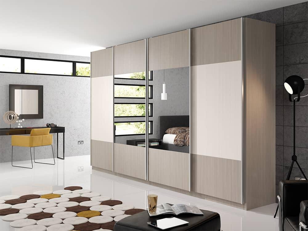 Avola Grey White Bedroom