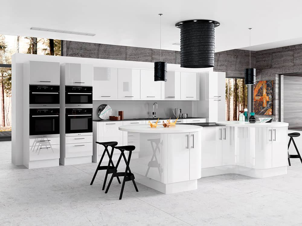 Gloss White - Modern Kitchens