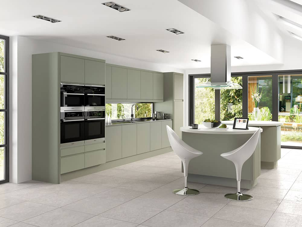 Integra Matt Deep Lichen 1 - Modern Kitchens