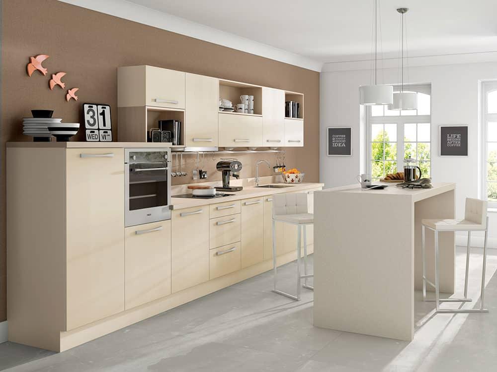 Metro Mussel - Modern Kitchens