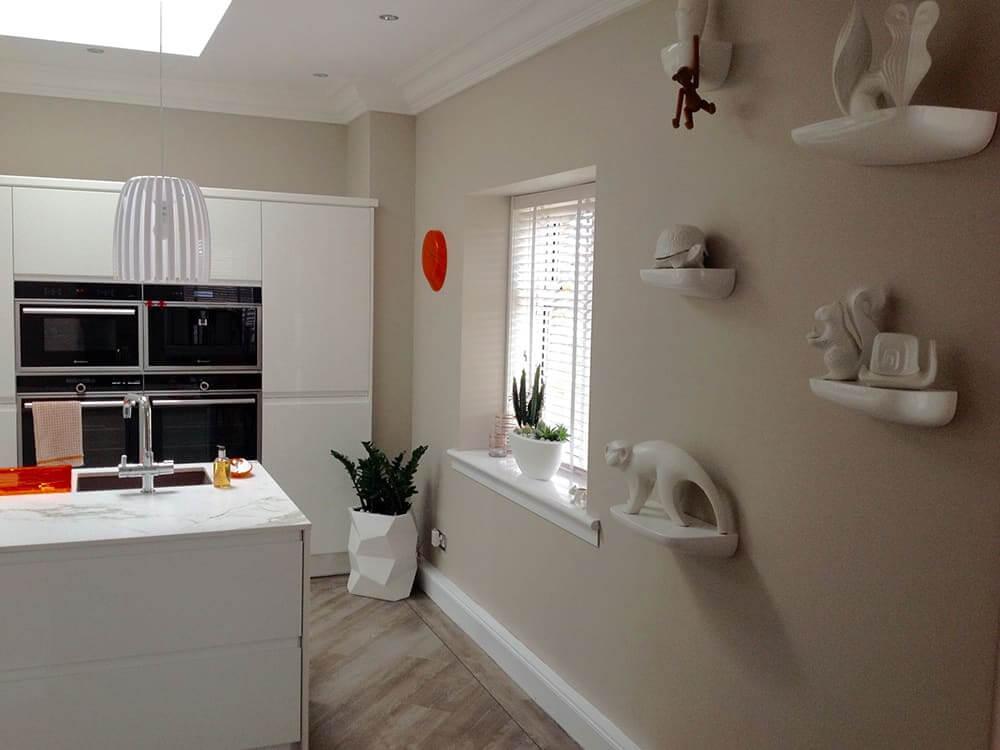 white gloss kitchen 13 - Bruce McRaes New White Gloss Kitchen