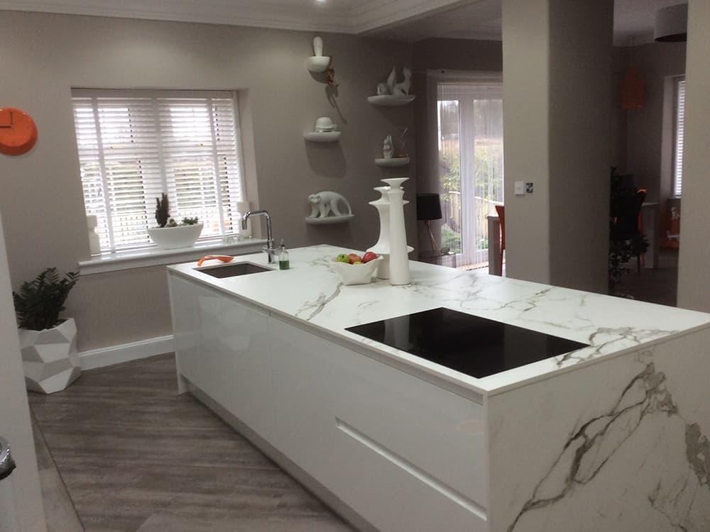 white gloss kitchen 9 - Bruce McRaes New White Gloss Kitchen