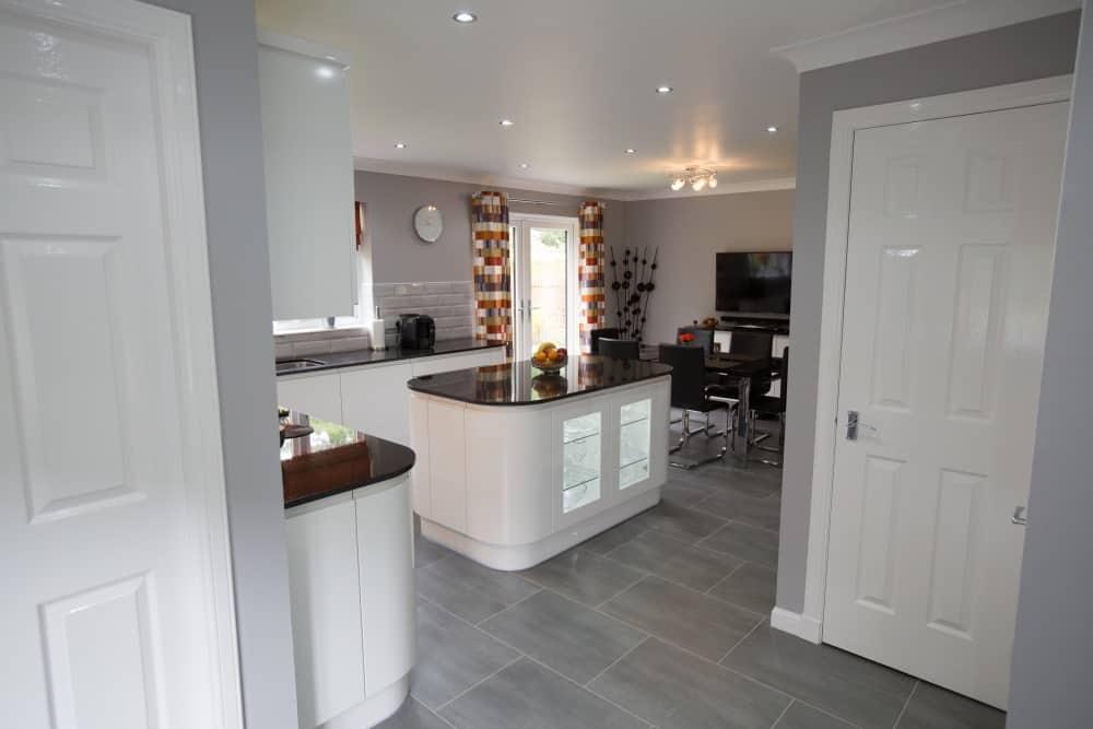 Mr And Mrs Pollards White Gloss Kitchen Kitchens