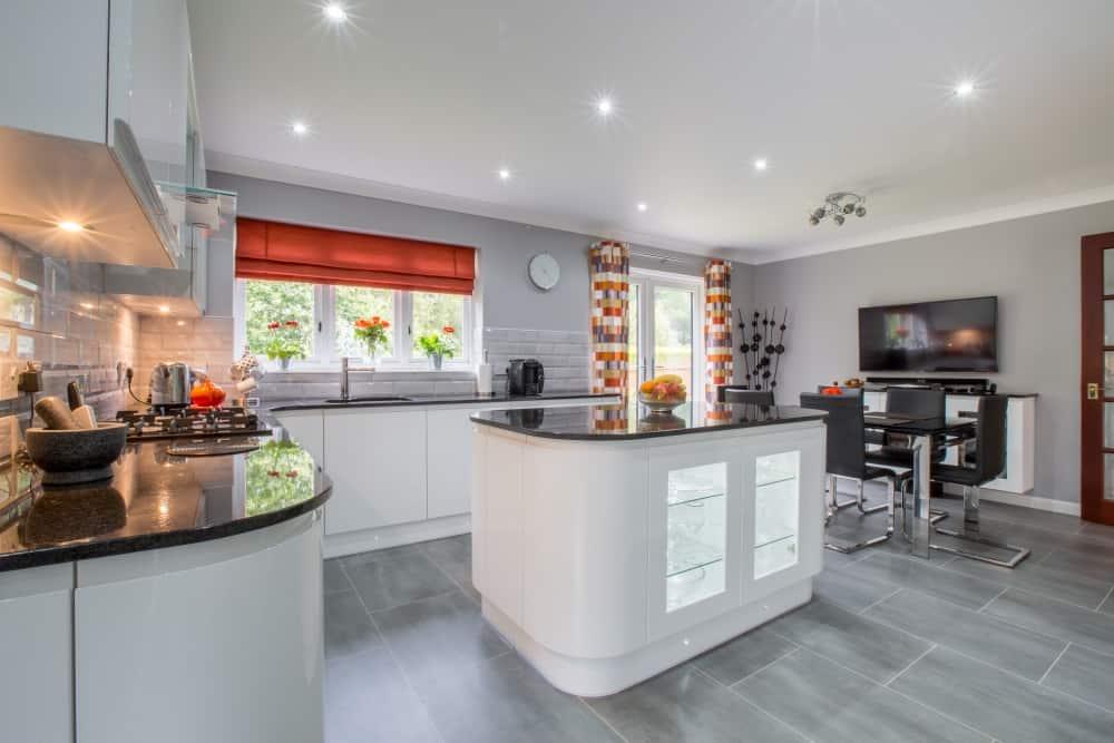 kitchen ideas white gloss7 1 - Mr and Mrs Pollards White Gloss Kitchen