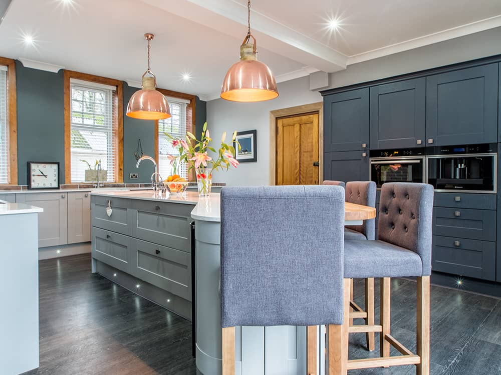 Beautiful Hand Painted Kitchen In Troon Kitchens