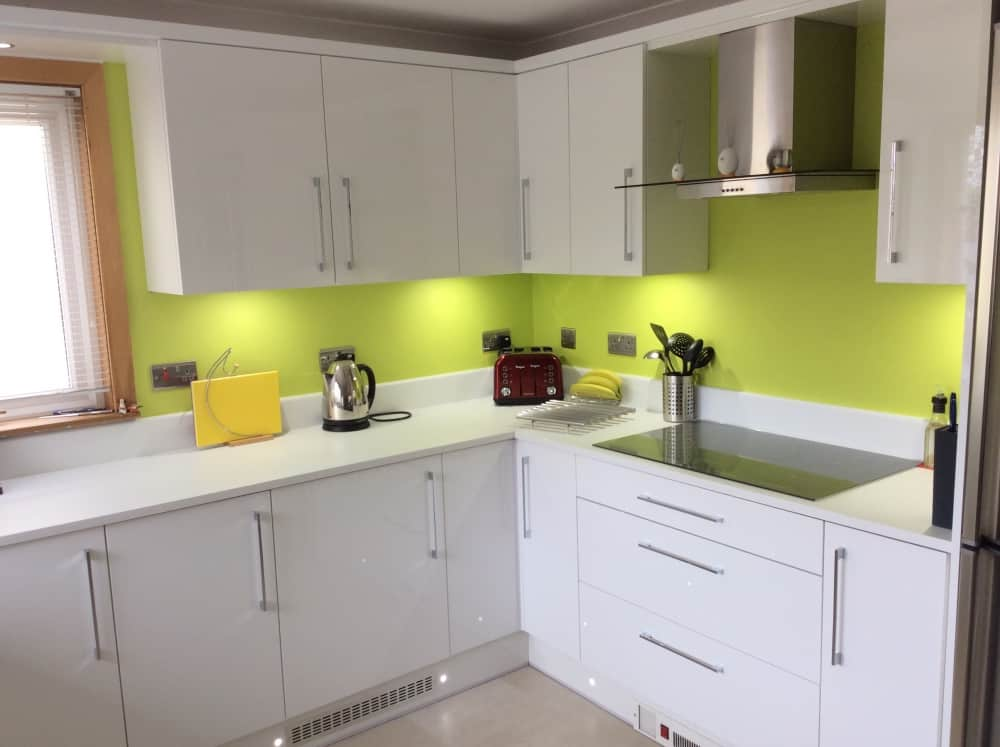 Irene Kemps White Gloss Kitchen Kitchens Bathrooms
