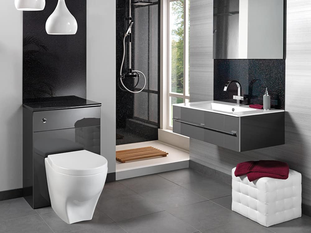 Modular Reflections Metallica Kitchens Bathrooms