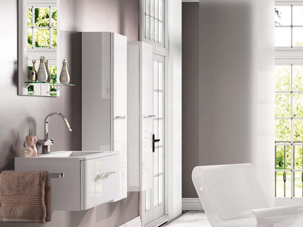 Modular - Trevi Gloss White Cameo