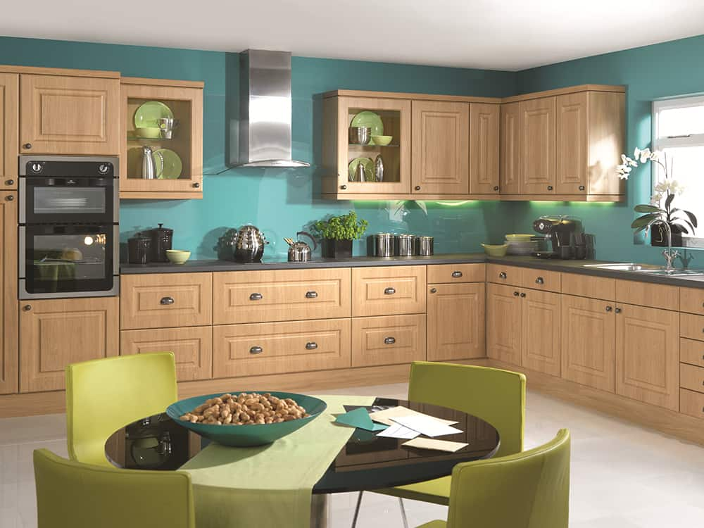 Abbey Lancaster Oak Kitchen Kirkintilloch Falkirk 1 - Traditional Kitchens
