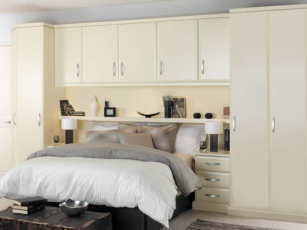 Ascot Cream Fitted Bedroom Kirkintilloch - Bedrooms