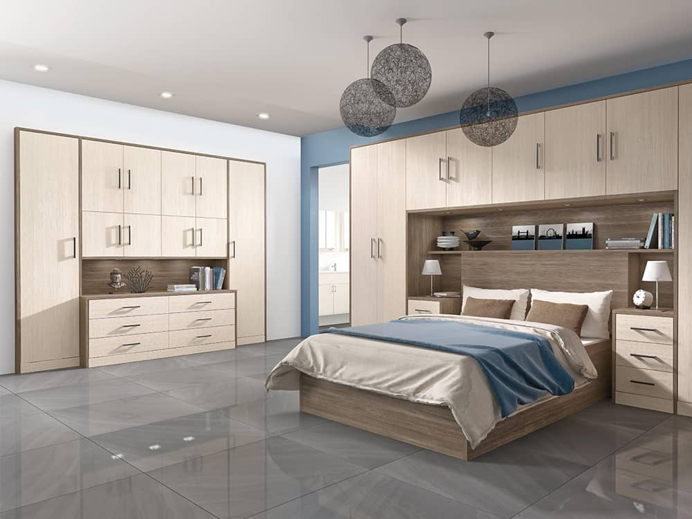 Avola Champagne Fitted Bedroom Kirkintilloch - Bedrooms