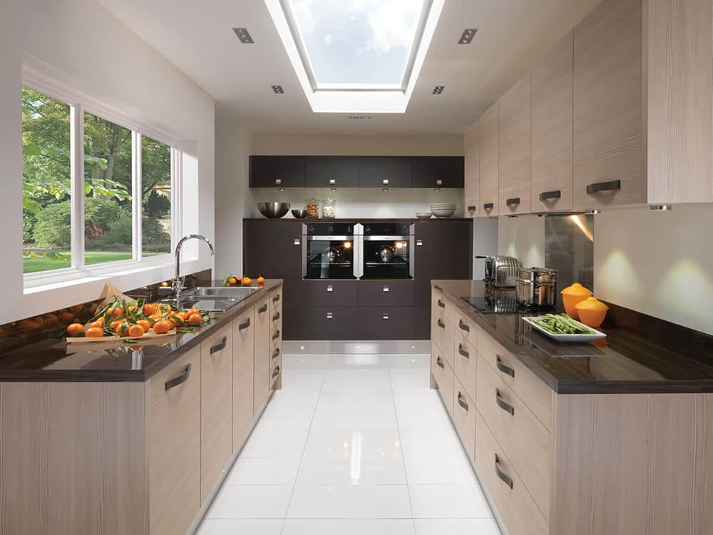 Avola Champagne Kitchen Kirkintilloch Falkirk - Modern Kitchens