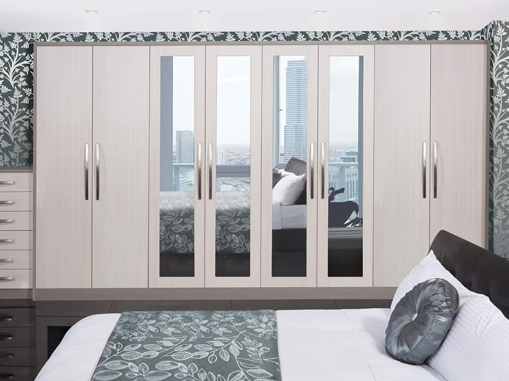Avola White Fitted Bedroom Kirkintilloch - Bedrooms