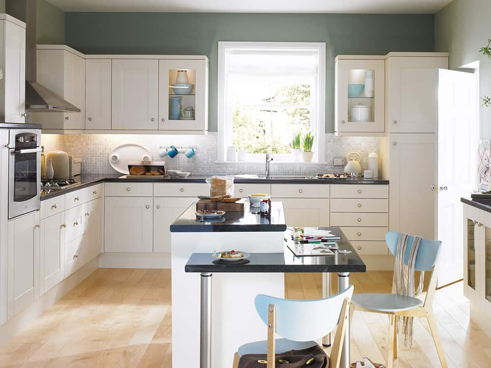 Flaxley Oyster Kitchen Kirkintilloch Falkirk - Traditional Kitchens