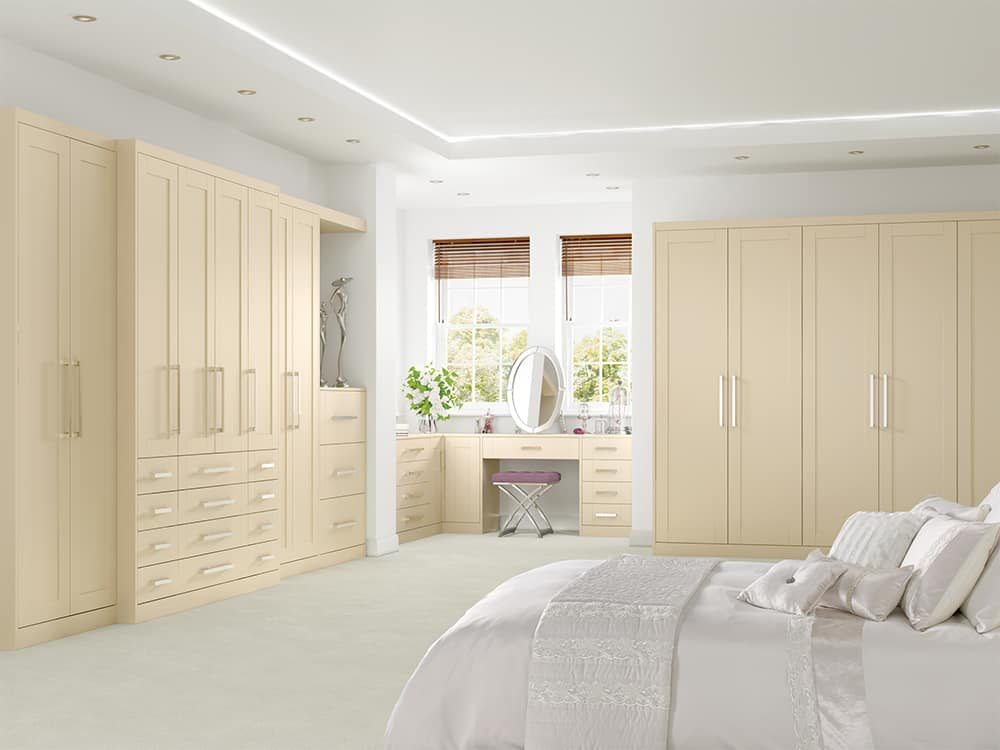 Henley Mussel Fitted Bedroom Kirkintilloch - Bedrooms