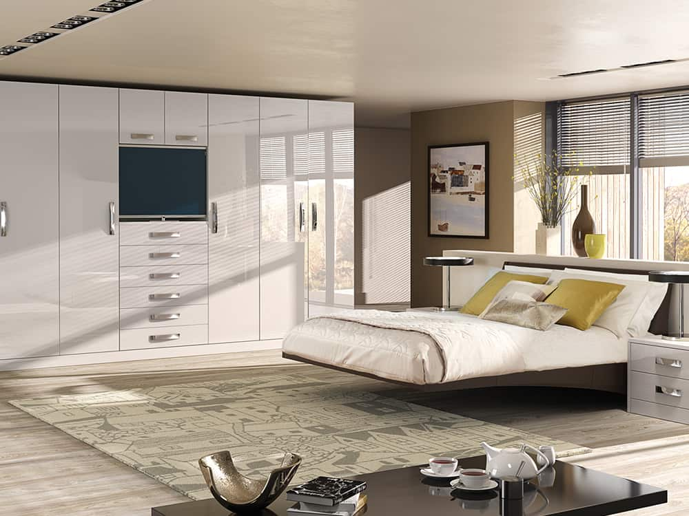 Image Gloss Kashmir Fitted Bedroom Kirkintilloch - Bedrooms