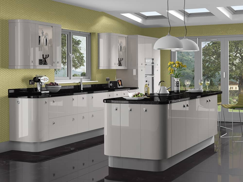 Image Kashmir Kitchen Kirkintilloch Falkirk - Modern Kitchens