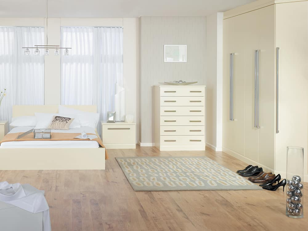 Melford Cream Fitted Bedroom Kirkintilloch - Bedrooms