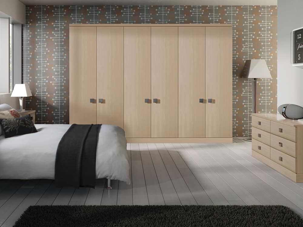 Melford Ferrara Oak Fitted Bedroom Kirkintilloch - Bedrooms