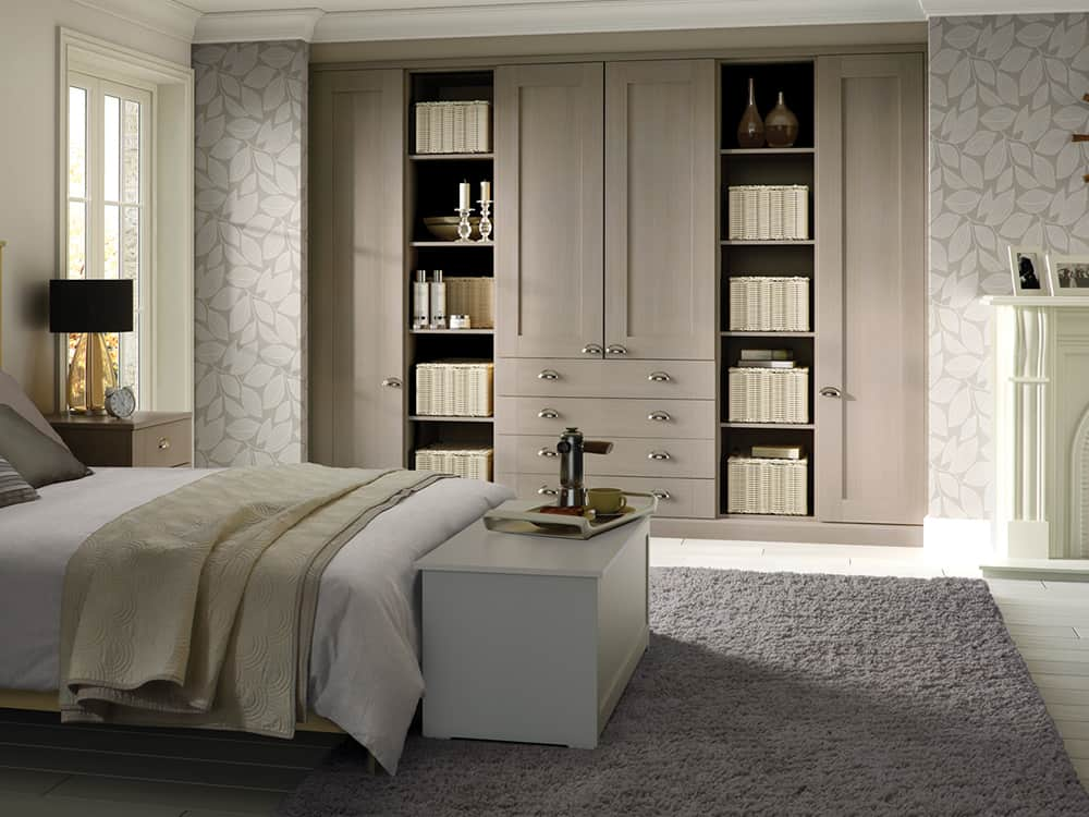 Pendle Jute Fitted Bedroom Kirkintilloch - Bedrooms