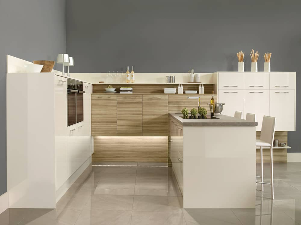 gloss oyster tempo coco bolo - Modern Kitchens