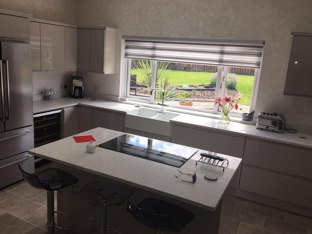 High Gloss Kitchen Kitchens Bathrooms Designed