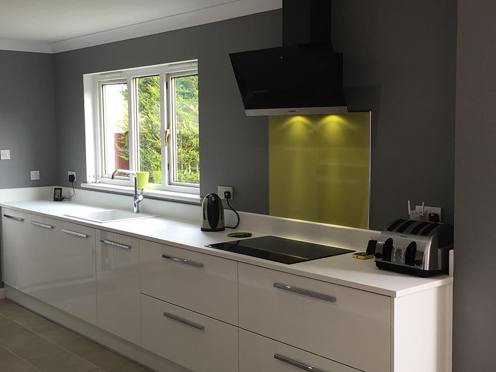 Gloss Driftwood Kitchen Kitchens Bathrooms Designed