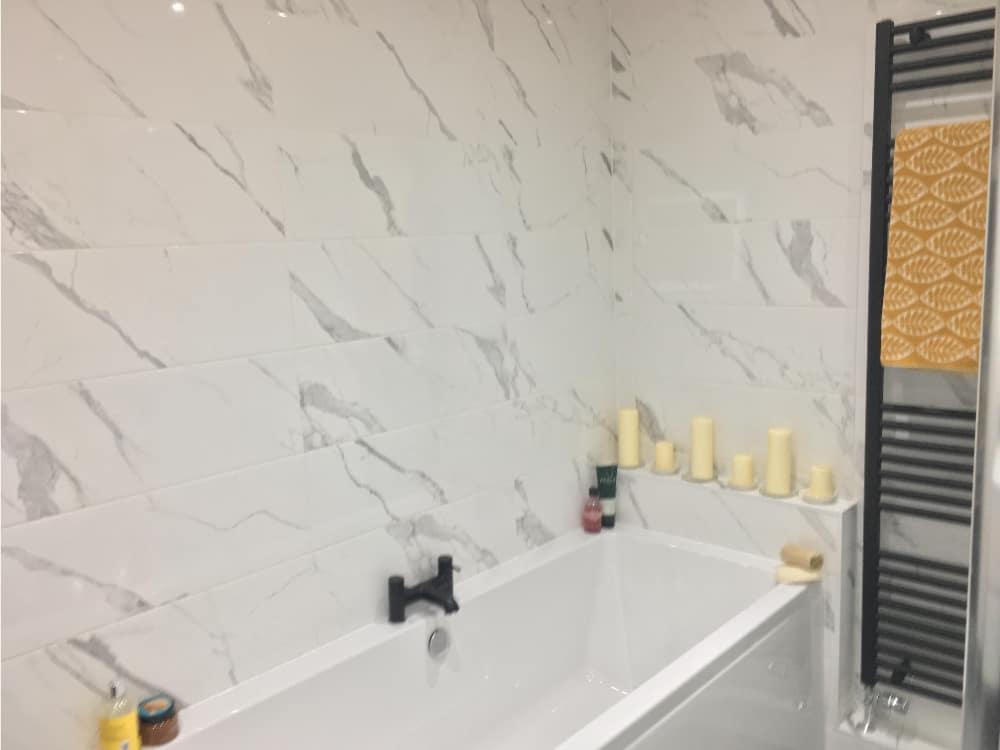 bathroom 2a 2 - Marble Bathroom