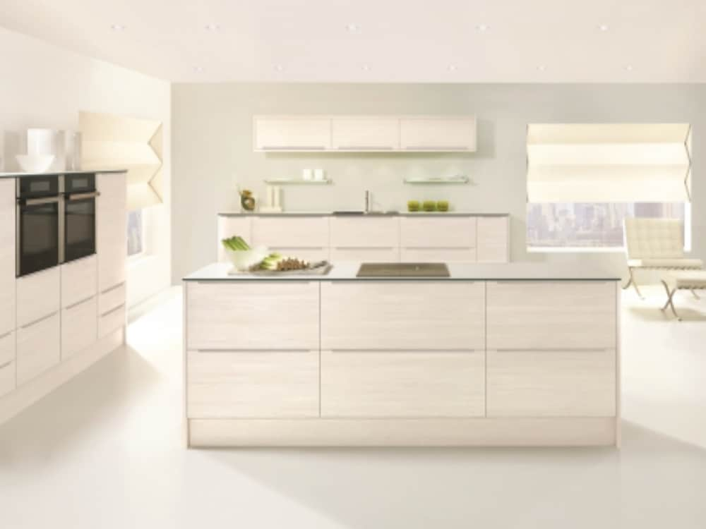 Avola White - Modern Kitchens