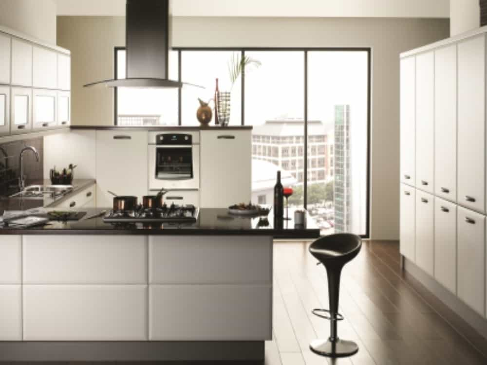 Cologne Smooth White - Modern Kitchens
