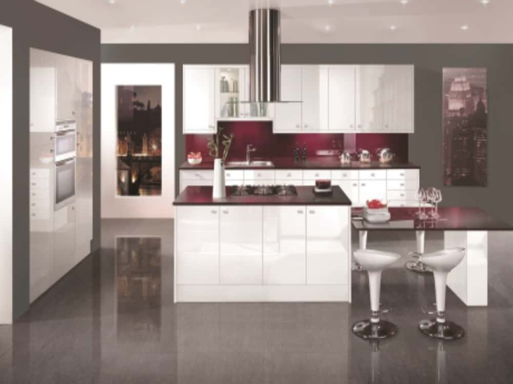 Image Gloss White - Modern Kitchens
