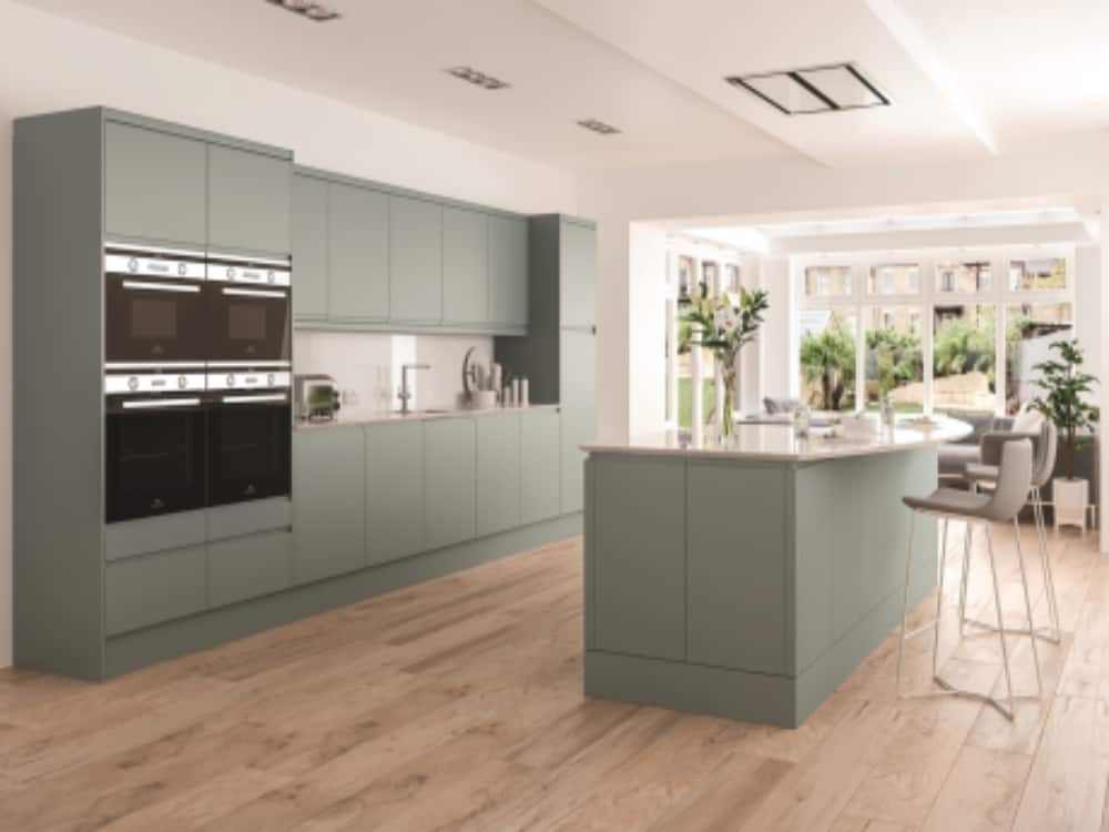 Integra Matt Fjord - Modern Kitchens