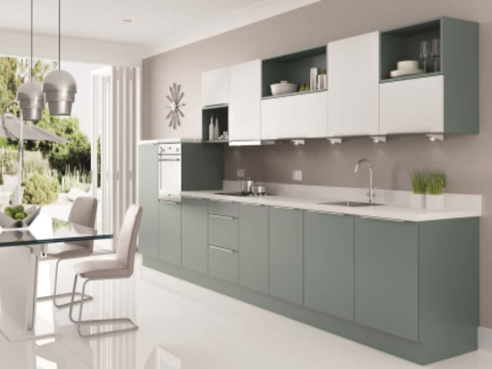 Metro Fjord White - Modern Kitchens