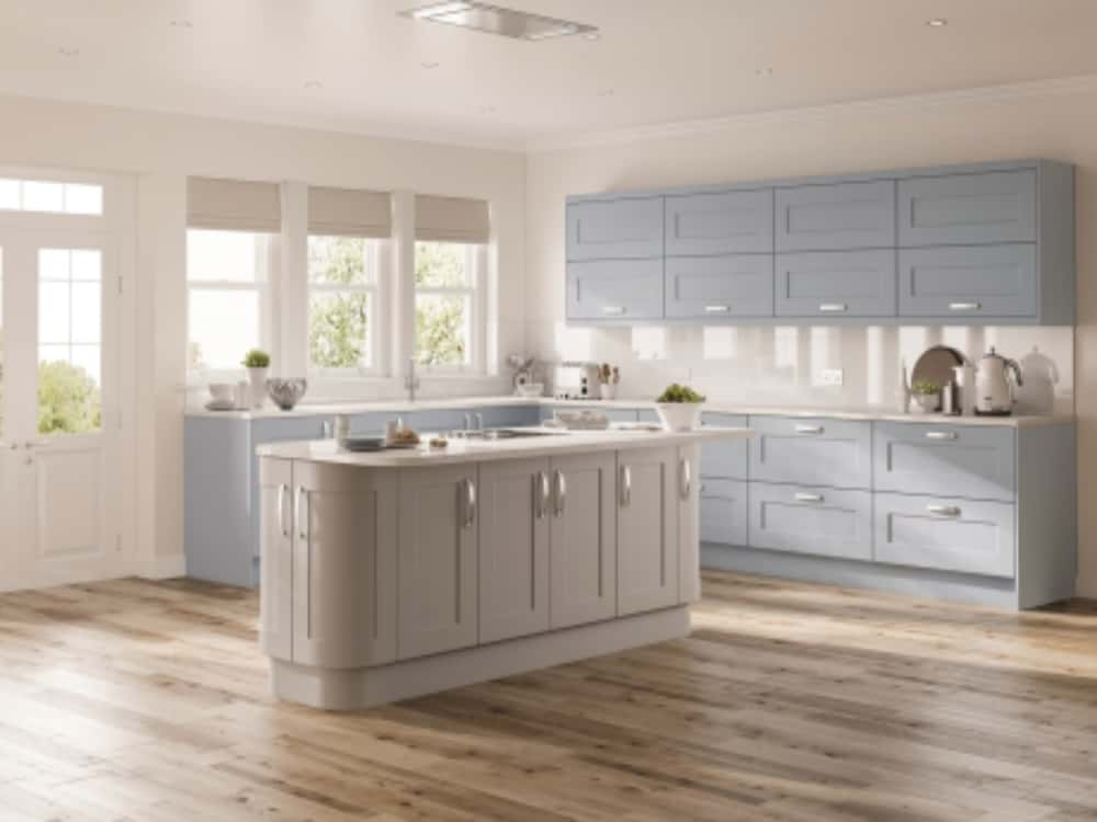 Solent Denim Blue - Traditional Kitchens