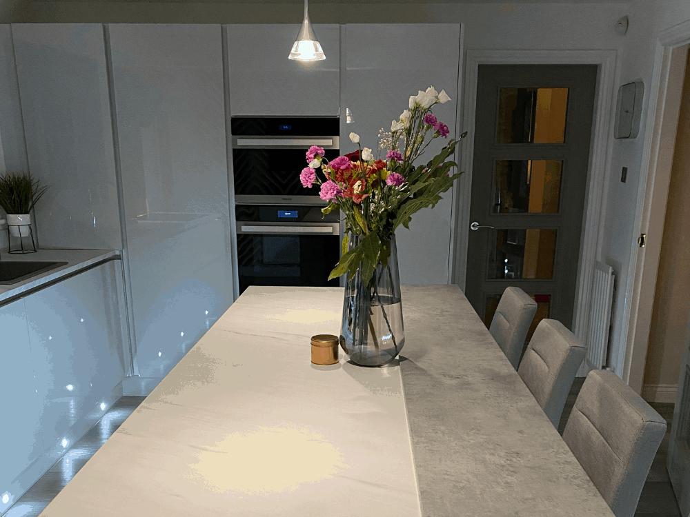 7 - Mrs Wilson Island Kitchen